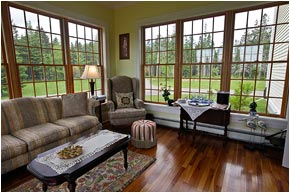 Living Room and Sunroom